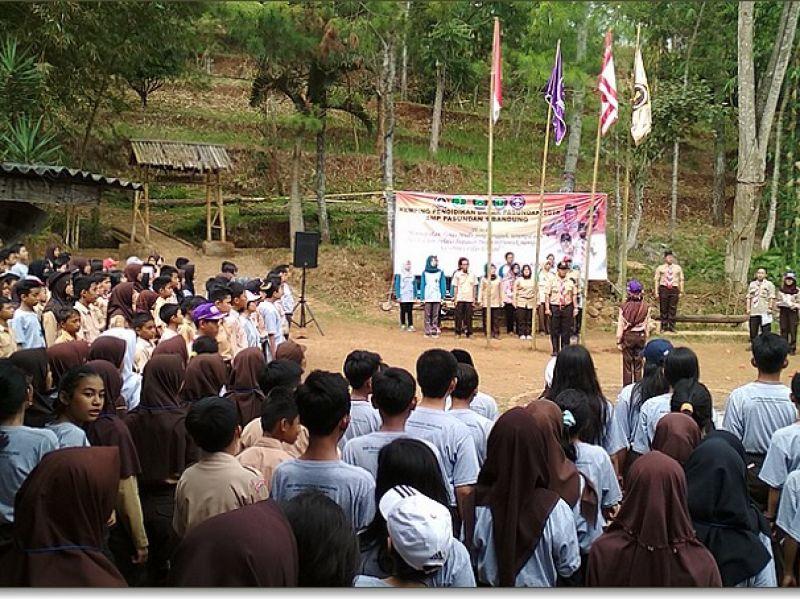 Kemping Pendidikan Dasar (KPD) 2018 Kampung Bambu